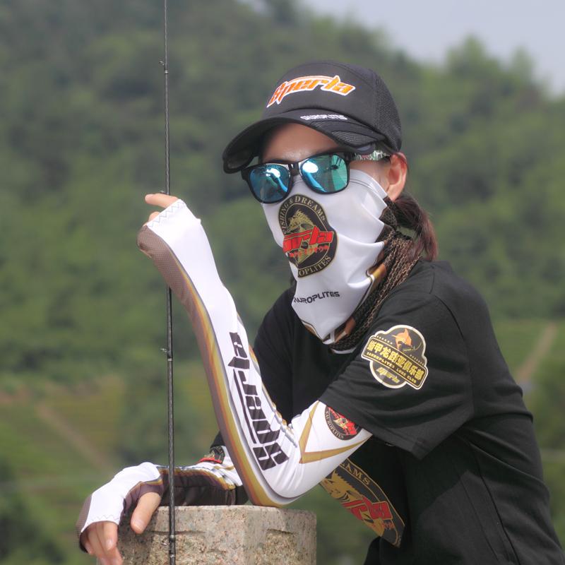 На открытом воздухе солнцезащитный крем рыбалка крышка солнце крышка дорога азии лед рукав солнцезащитный крем оборудование мужской и женщины шелк льда защищать рукава нагрудник шарф крышка