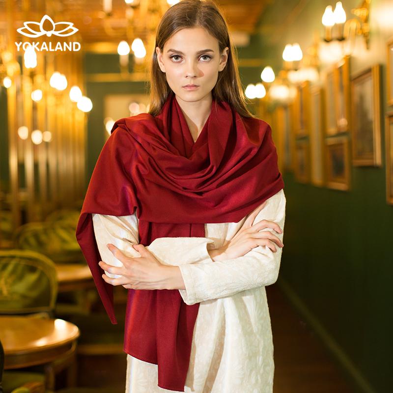 Отлично карта лотос 16 осень и зима австралия государственный импорт шерсти мода шарф шаль ATW003