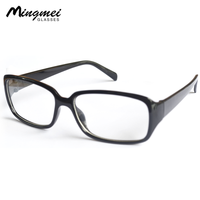 d385add7f0 Big box black frame glasses frame trend men and women plate glasses small box  black frame