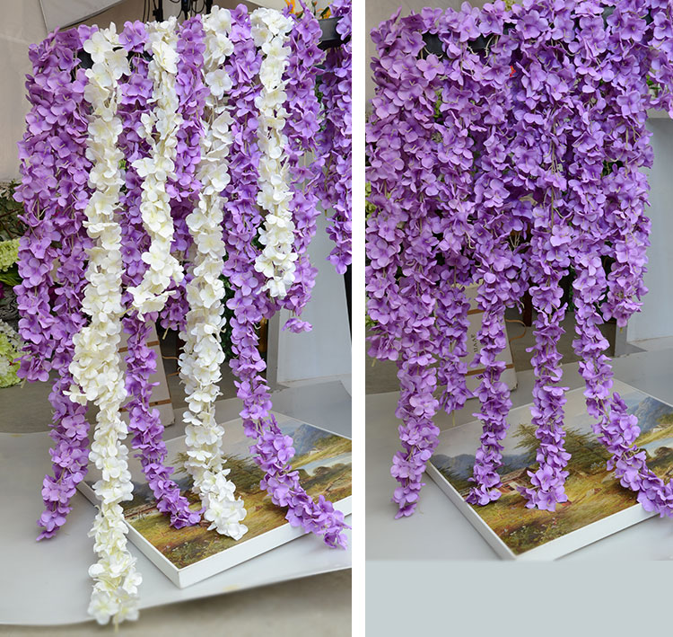 Usd 432 simulation wisteria flowers vine rattan wedding fake simulation wisteria flowers vine rattan wedding fake flower silk flower plastic long legume flower decoration flower mightylinksfo