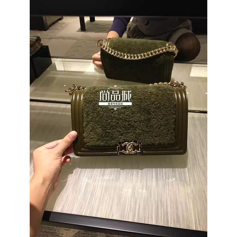 正品直邮Chanel 香奈儿2016新款 女包 时尚真皮单肩斜跨口盖包