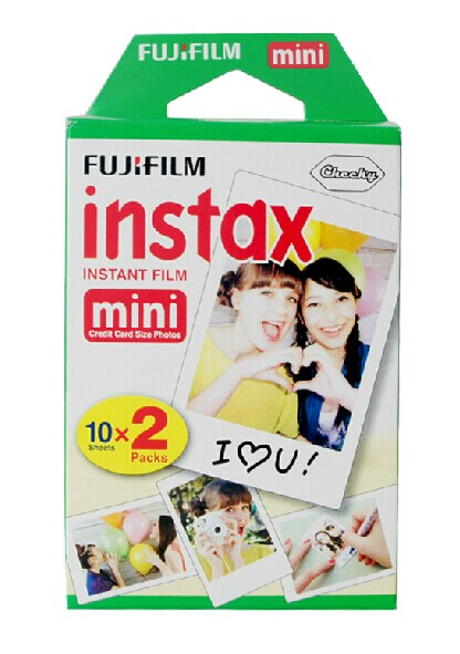 Fuji Polaroid MINI photo paper mini7s/8/25/ Diana F Polaroid photo paper 20 loaded purchasing