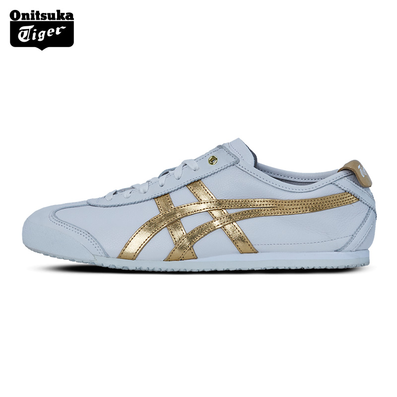 online retailer b2486 ac996 Onitsuka Tiger onetsuka Tiger men and women sports casual shoes white shoes  MEXICO 66 D508K