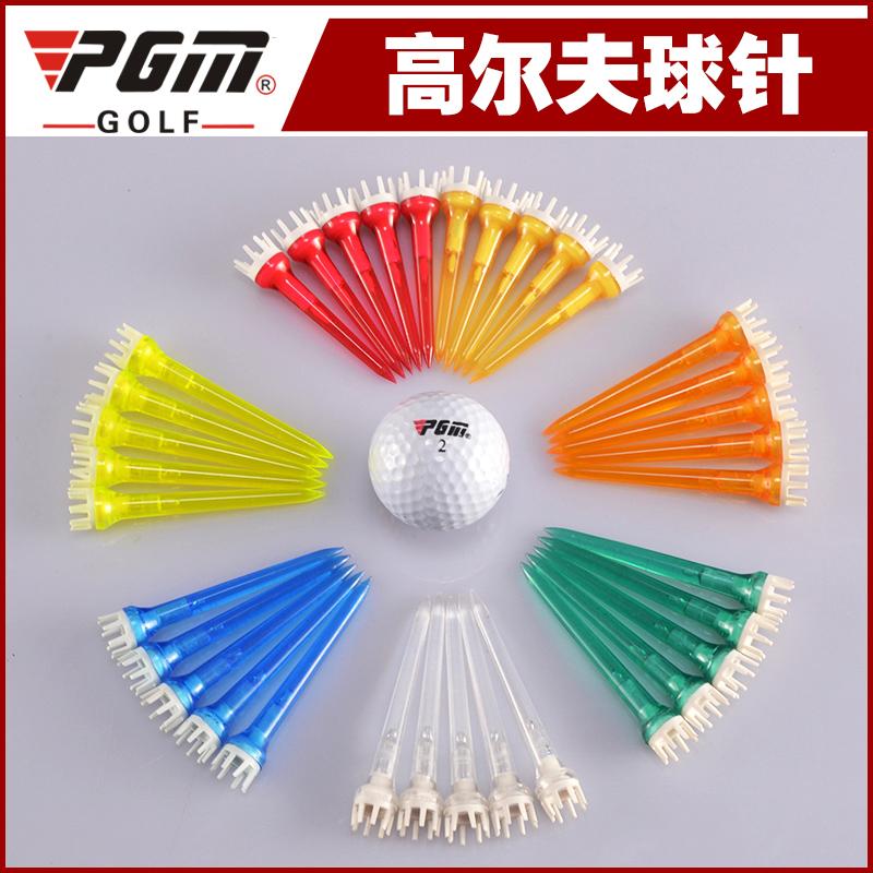 Гольф императорская корона форма игла для меча гольф мяч Tee гольф мяч гвоздь пластик TEE прозрачный мяч Tee мяч