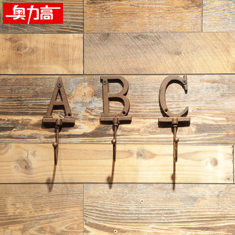 Aulik high clothing store clothes hook hanging on the wall hangers ...