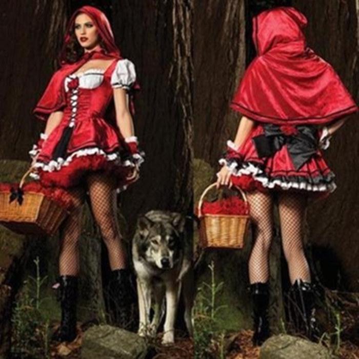 万圣节服装 女 成人面具舞会演出服 cos巫婆服 巫婆帽 公主裙礼服
