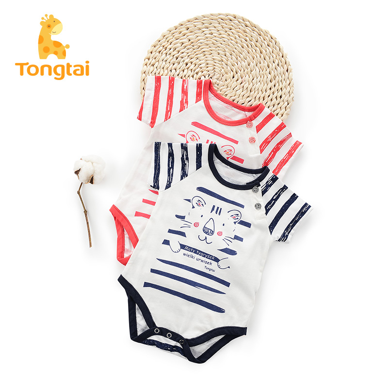 95409bf87720 USD 16.62  Tong Tai baby jumpsuit spring and summer cotton underwear ...