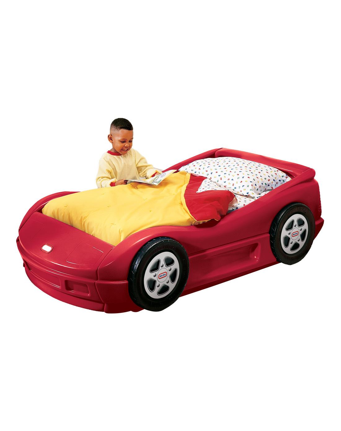 Littletikes小泰克 儿童跑车造型床宝宝卡通床婴儿床全国包邮