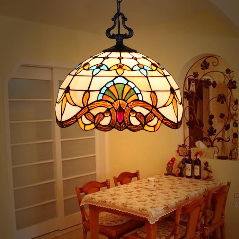 汇彩创意个性吊灯餐厅吧台单头田园过道走廊玄关阳台飘窗LED灯具