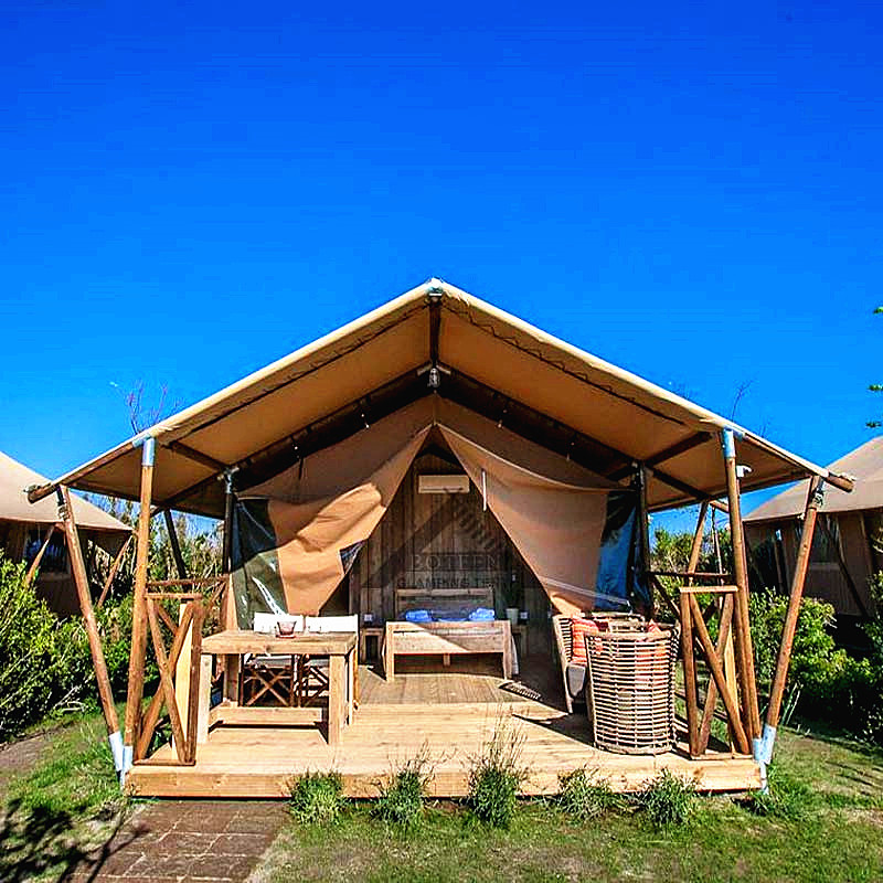 Wood structure c&ing luxury hotel in the scenic resort tent outdoor luxury c&ing tours c& tents tents & USD 4664.64] Wood structure camping luxury hotel in the scenic ...