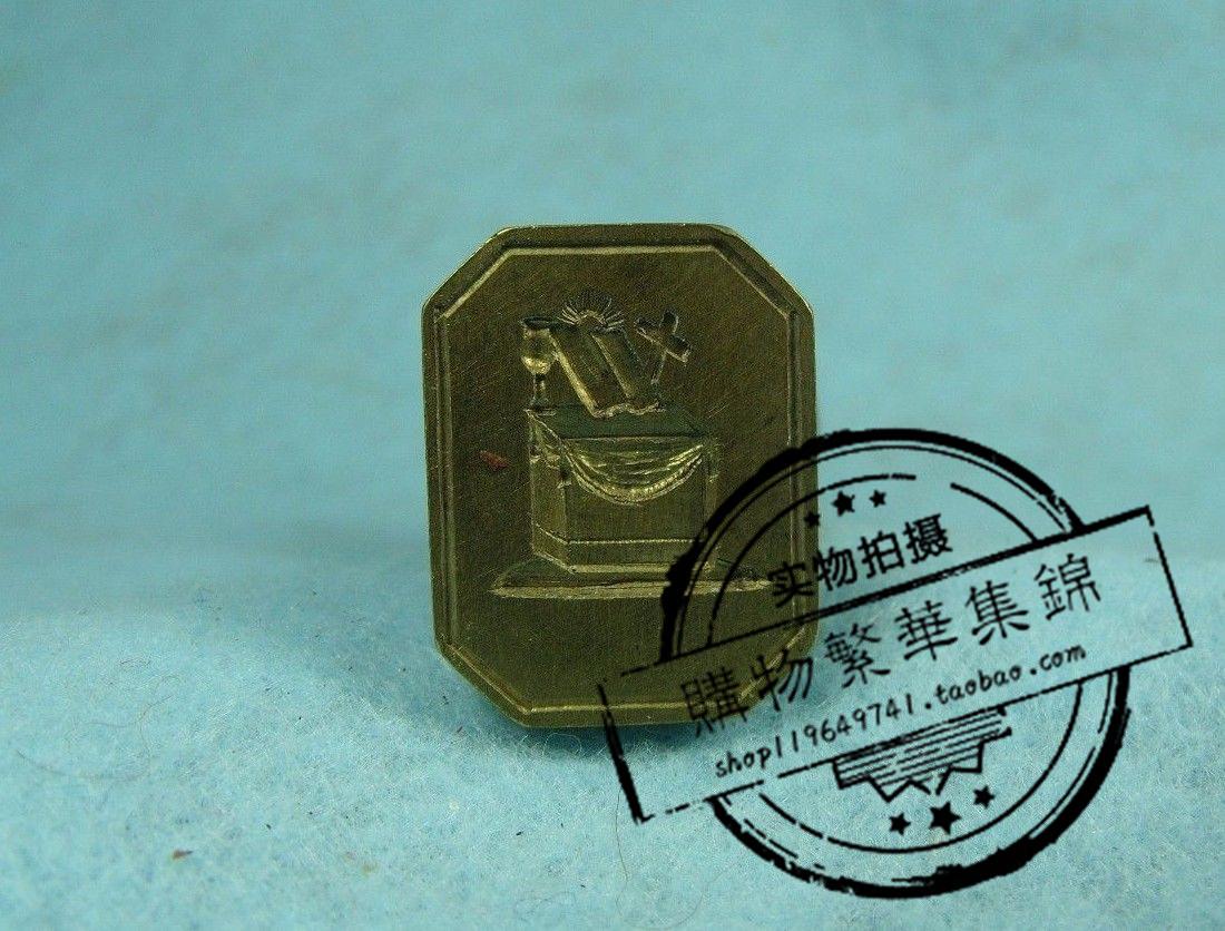 火漆印章邮戳 古董漆蜡密封ca.1850信 玛瑙青铜 首字母I.G.V