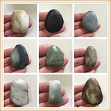 Optional 200 yuan/1 piece of Xinjiang Hetian jade white jade blue jasper skin color special seed raw stone special offer