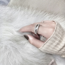Net red index finger ring, female Korean character, chic ring, cold air.
