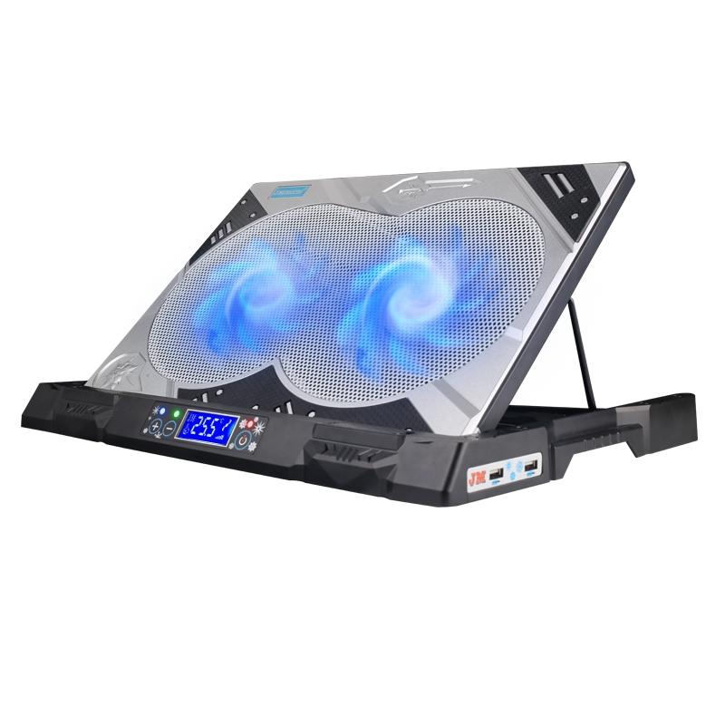 笔记本抽风式散热器静音14 15.6寸17联想戴尔华硕电脑通用吸热器