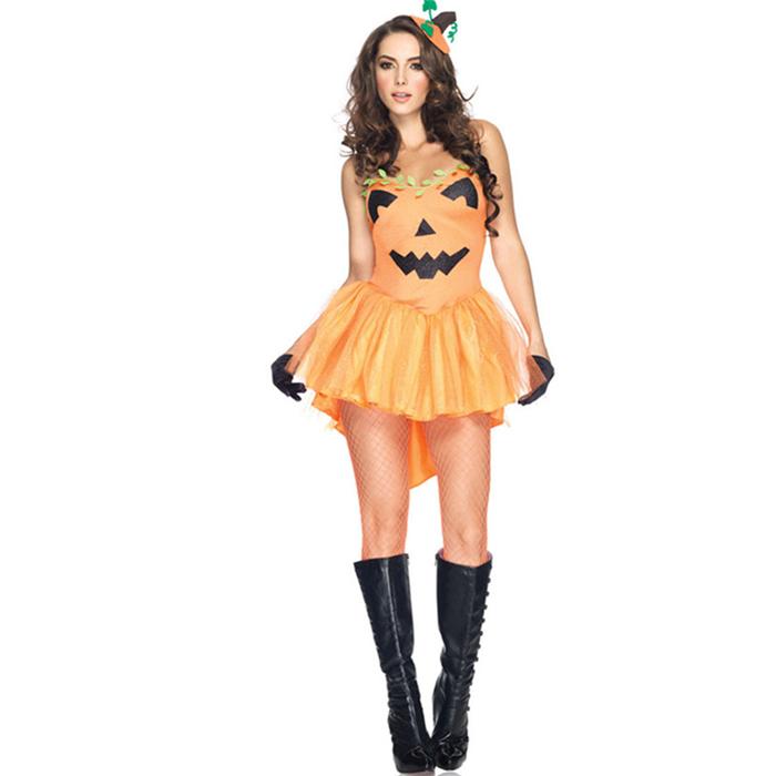万圣节成人儿童服装女巫巫婆公主长裙亲子服装大码舞会派对表演