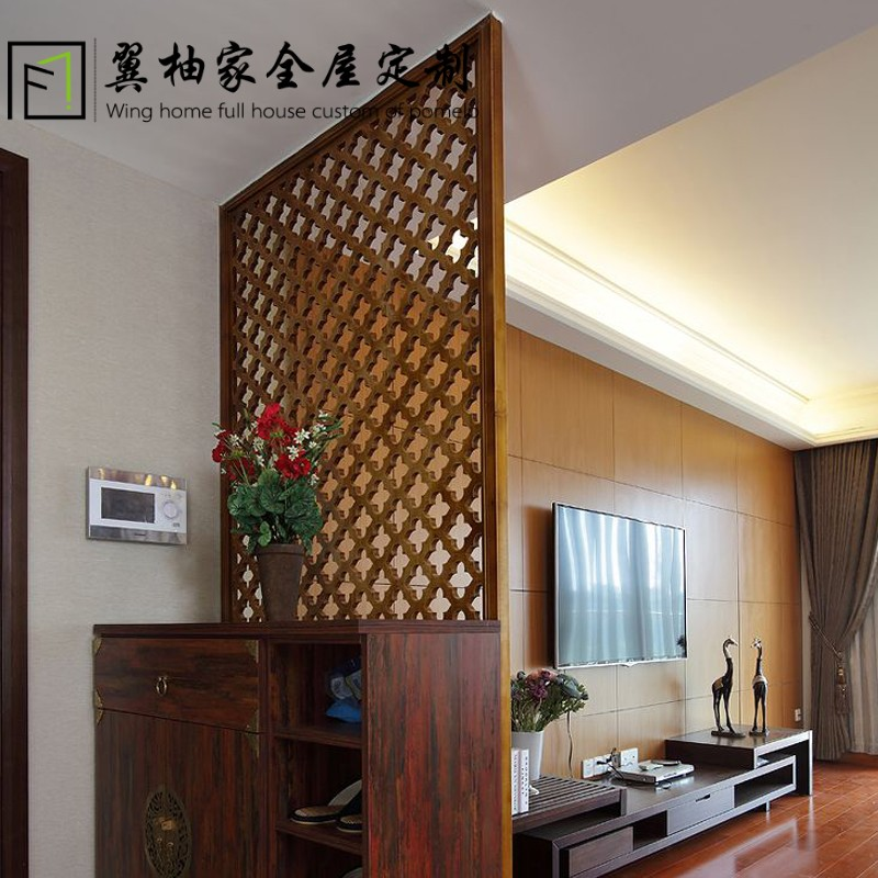 Wood Partition usd 87.17] american wood partition wood lattice screen pass