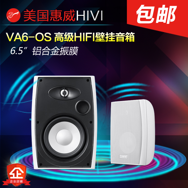 Hui Wei VA6-OS conference audio wall speaker broadcast speaker campus  background music system engineering audio