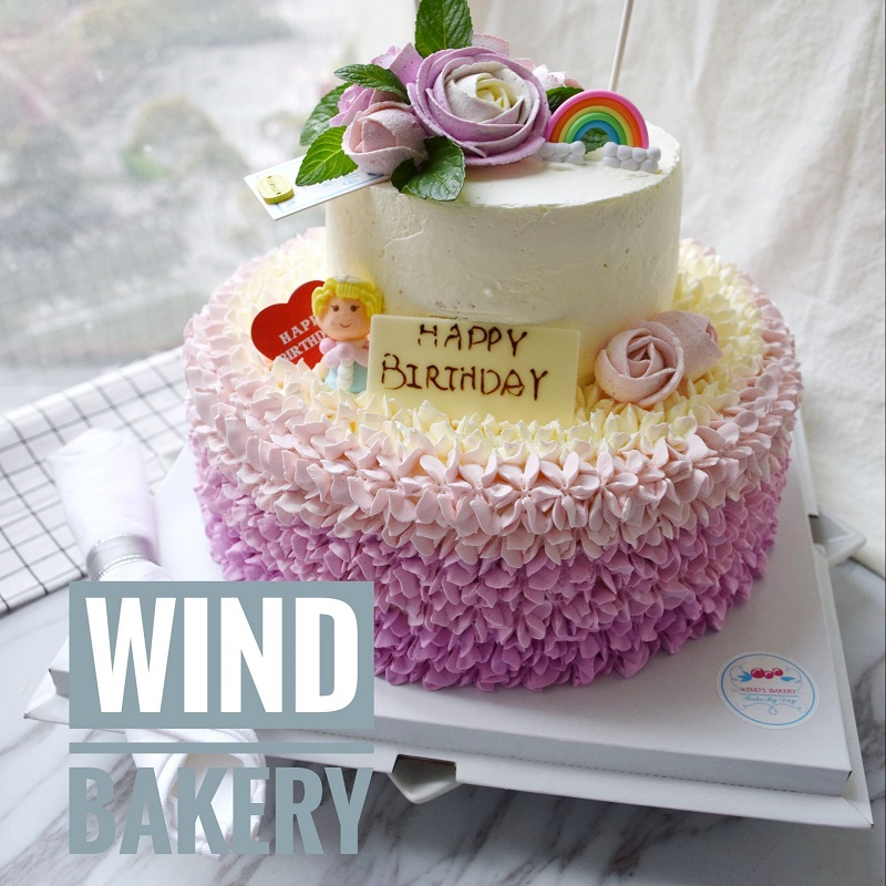 Fabulous Usd 133 39 Windbakery Microbe Cake Love Ocean Double Layer Funny Birthday Cards Online Inifofree Goldxyz