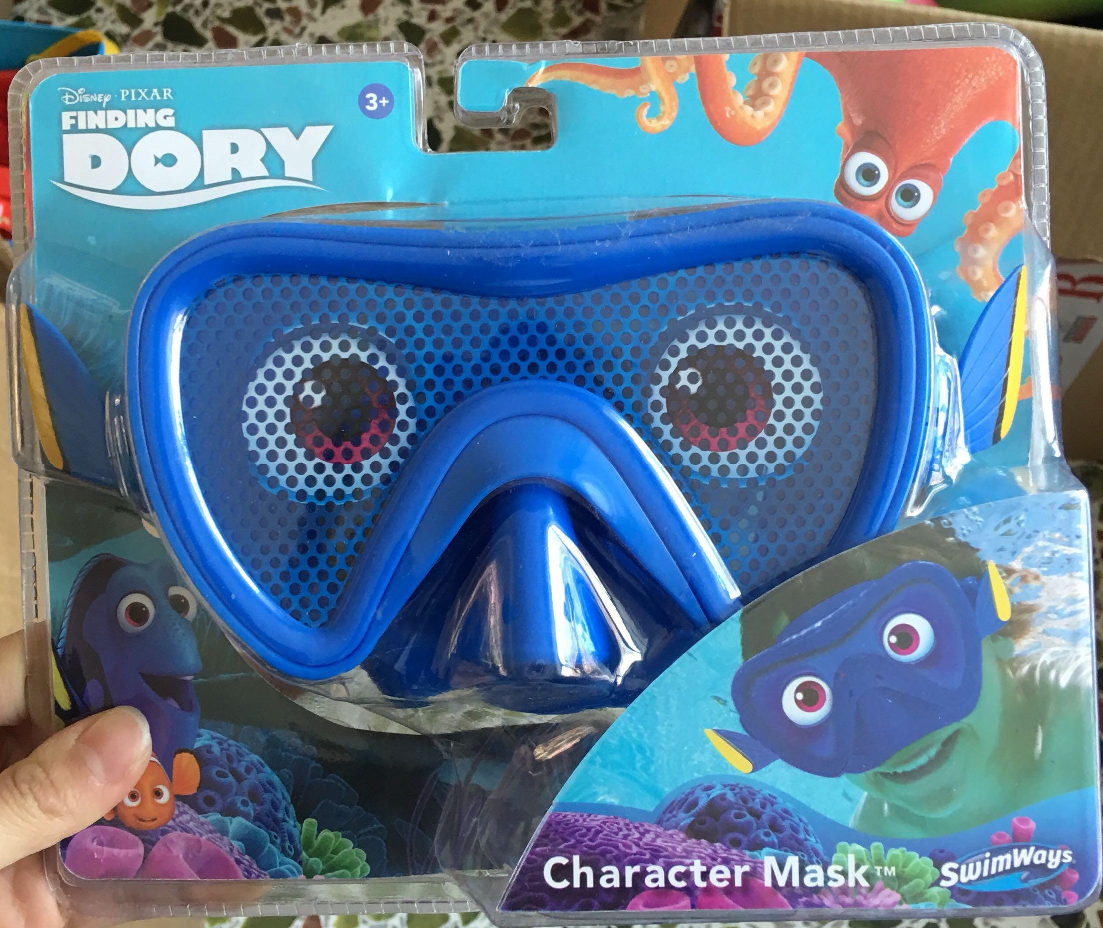 Spot bơi lội Mỹ mặt nạ bơi kính lặn Disney nàng tiên cá Disney mới đến - Goggles