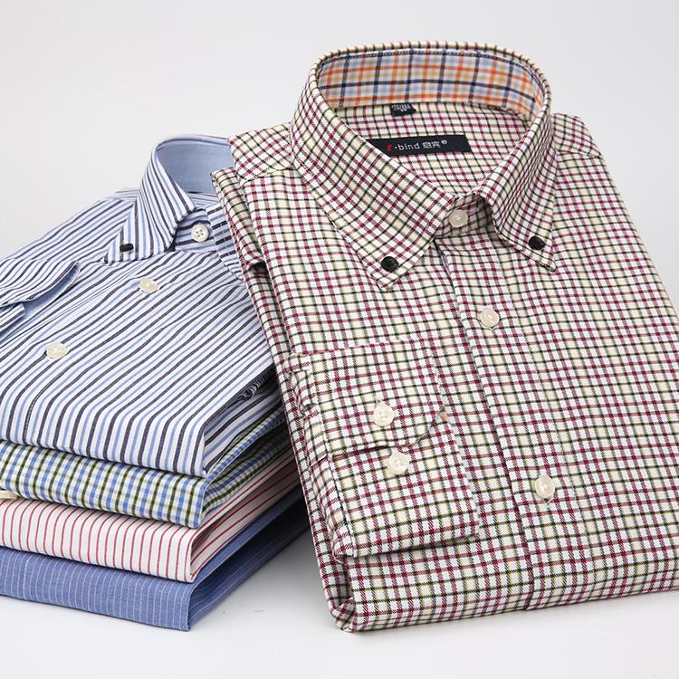 4b4098a362b3aa6 Италия Bin чистый хлопок мужской весна белый сорочка Весы сплошного цвета  молодежный приталенный длинный рукав рубашка