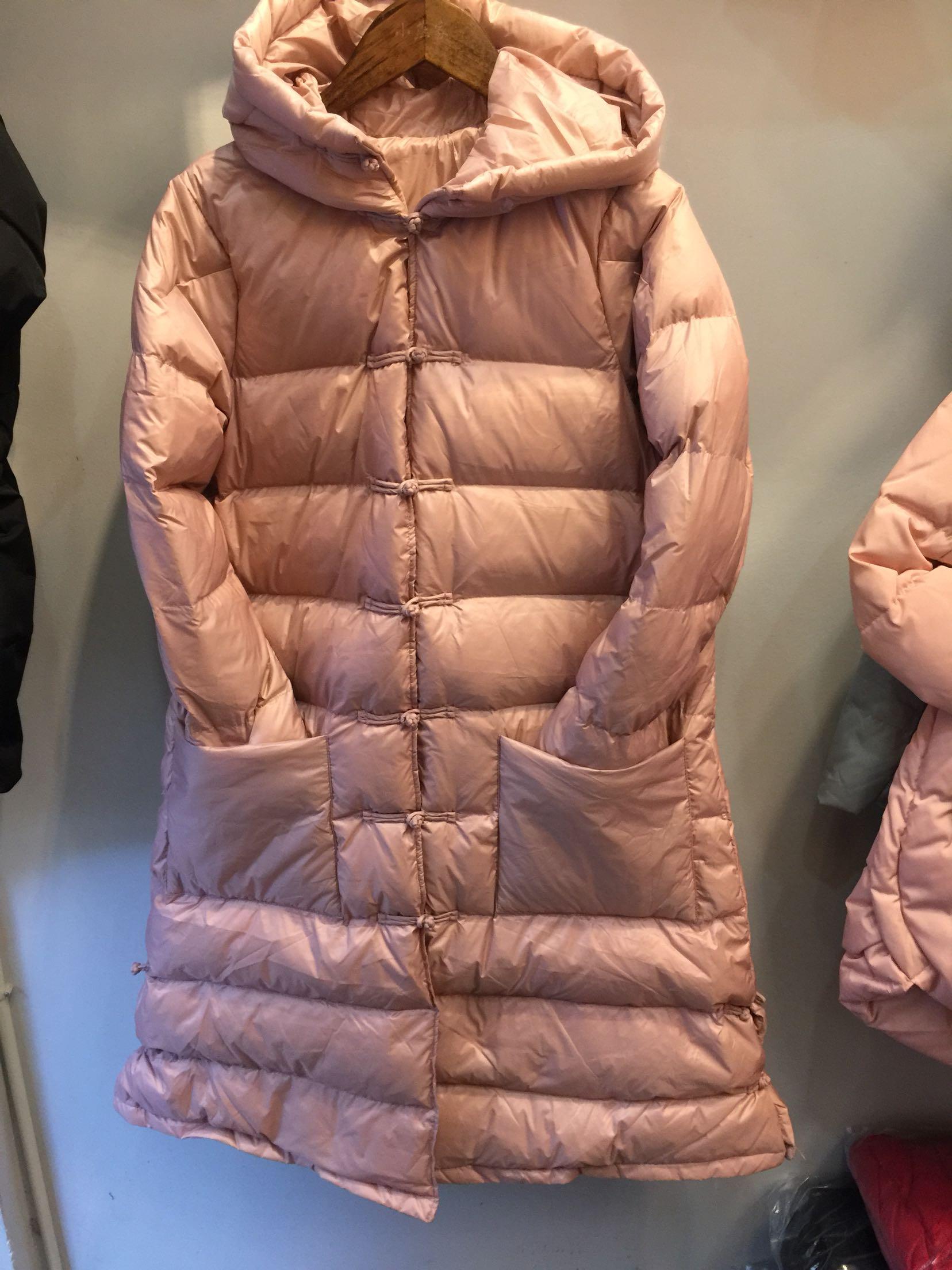 2016新款中国风显瘦民族风羽绒服中长款冬盘扣汉服女冬装袄子外套