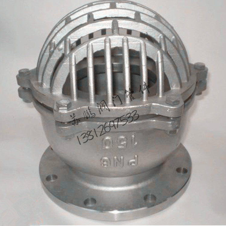 Клапан нижний Донный клапан h42w - 6p 304 нержавеющая сталь Фланец конце клапан воды насос снизу клапан dn150 200 250 300