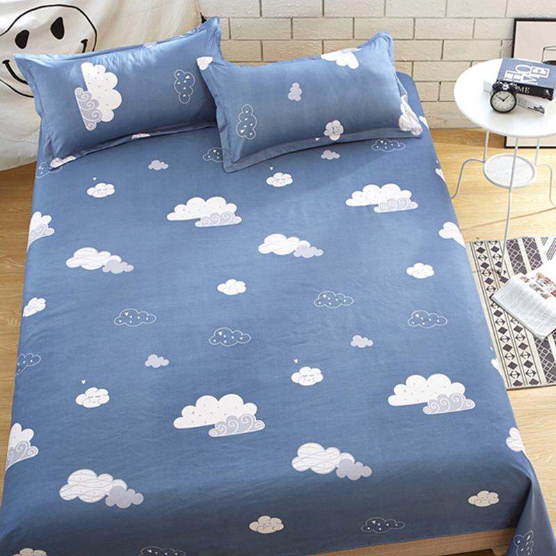 Yixin tình yêu tấm đơn ký túc xá sinh viên 1.8 mét đôi giường đơn 1.5m1.6 2.3 mét