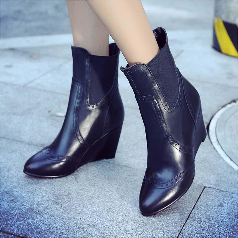 冬季童鞋女童棉鞋男童皮鞋单鞋 短靴低帮中童防滑马丁靴平底保暖