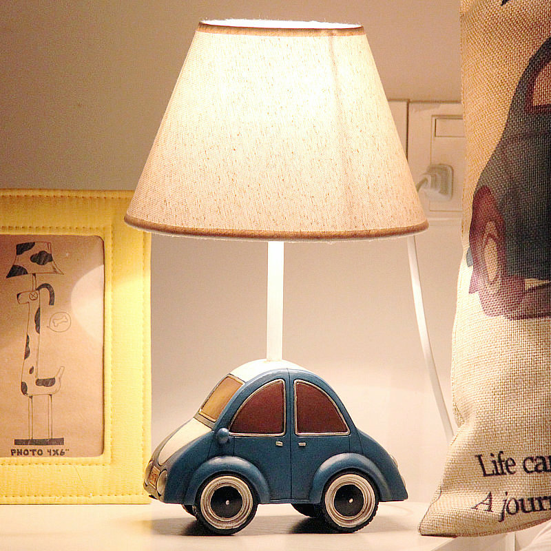 dimmable bedside lamp touch small car dimmable led childrens table lamp bedroom bedside creative warm cute eye boy gift usd 5442