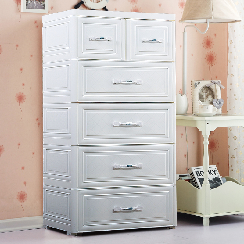 European Style Drawer Storage Cabinet Plastic Embly Lockers 5 Y Baby Wardrobe Children S Chest Of Drawers