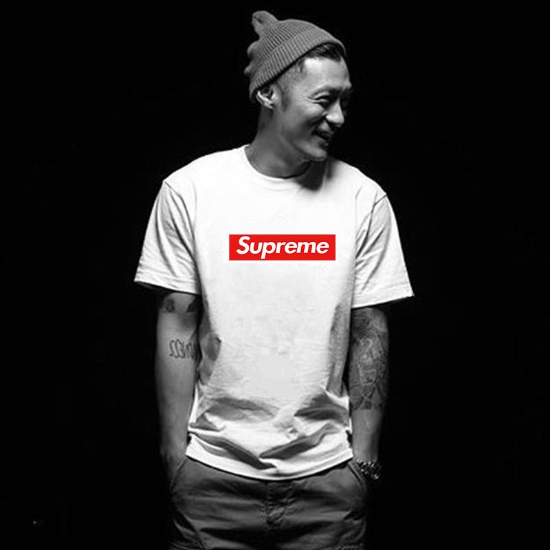 supreme 短袖T恤 日系 潮牌半袖