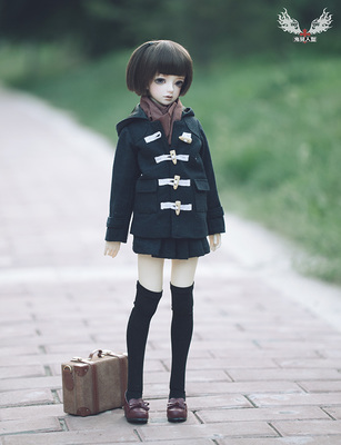 taobao agent [Ghost Qi human type] 4 points / 3 points / big girl / 2 points uncle buffalo horn coat set costume (1/3BJD doll SD13)