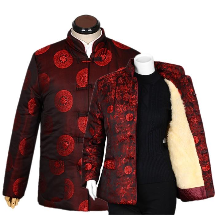 新款喜庆高档中老年唐装秋冬装女士棉衣老年女式唐装棉袄奶奶外套