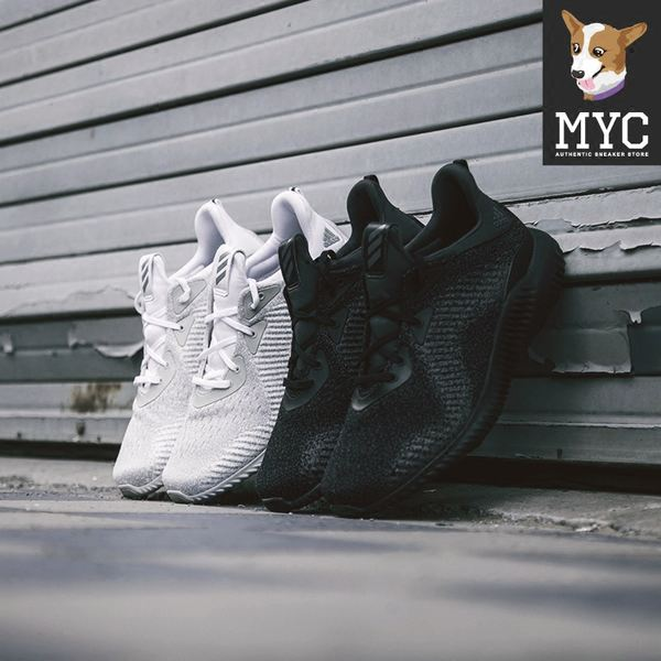 buy online e8fe1 47329 ... latest discount Adidas AlphaBounce Alpha Lite Coconut Sneakers DB1090  DB1092 d7168 4a29b ...