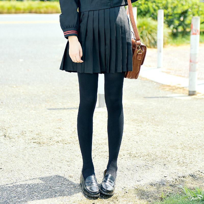 14b1c47b2 Students wear black pantyhose spring and autumn and Winter Warm girls wear  thin JK uniforms socks slim underwear stockings