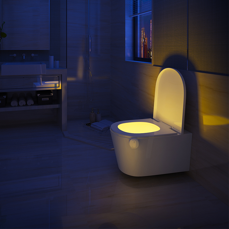 Bathroom Night Light usd 17.19] beelight intellisense toilet induction bathroom lamp