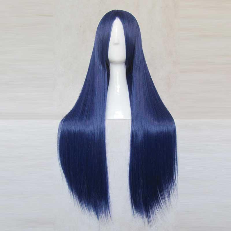 Danganronpa Dangan-Ronpa Sayaka Maizono Fashion Hair Long Cosplay Wig 80cm