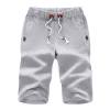 Summer Sports Casual Shorts Men's 5 Pants Trousers Summer Loose Beach 7 Cropped Trousers Student Breeders
