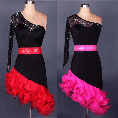 4ab059b56c21 Adult Latin Dance Costume Latin Dance Costume Latin Skirt Competition  Costume Latin Dance Costume