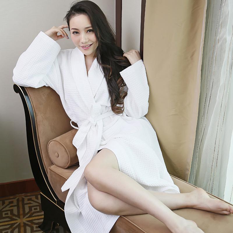 Xinmeishu khăn bông áo cho nam giới và phụ nữ các cặp vợ chồng bông áo khách sạn dày mỏng yukata mùa hè mùa thu mùa đông