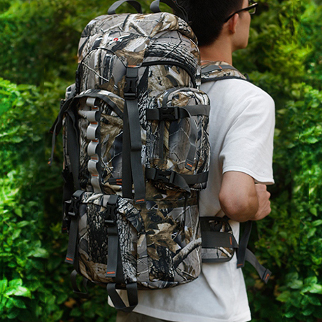 SGD62.54] Men's travel bag military backpacks 60L commando ...