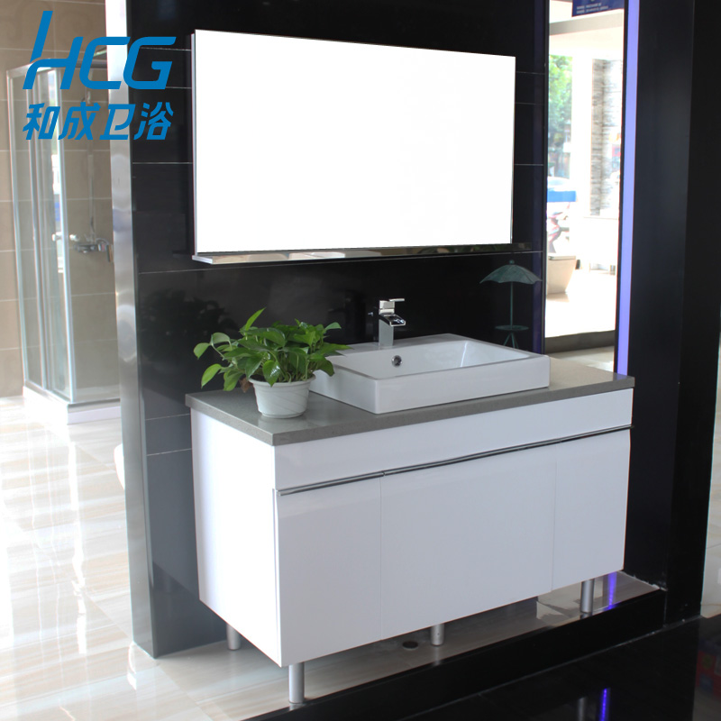 Usd 1526 43 And Into The Bathroom Hcg Bathroom Cabinet 1 2 Meters Main Cabinet Mirror With Face Basin And Tap Water Lc4755t Wholesale From China Online Shopping Buy Asian Products