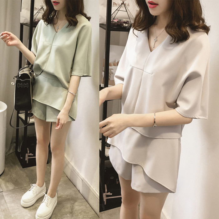 Fine Sweet Short Blouse Women Korean Chic Lotus Leaf Edge V-neck Shirt New Lantern Sleeve Spring Shirts Girls Holiday Crop Top White Blouses & Shirts