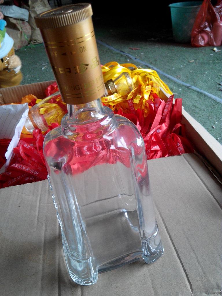 包邮500ml750ml酵素空酒瓶空红酒瓶空瓶葡萄酒瓶装饰洋酒瓶玻璃瓶