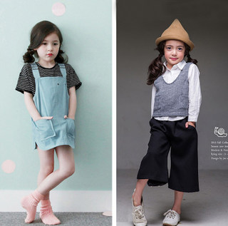 2020 Korean version of the new film floor children theme photography clothing exhibition new girl fashion art photo taking pictures