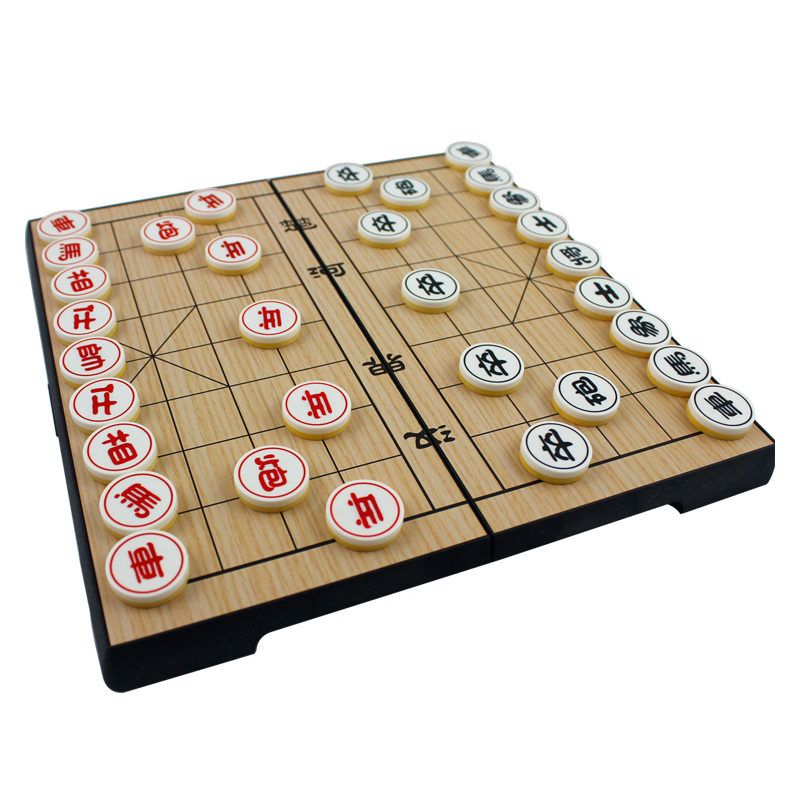 Стол летать рабочий стол игра сложить шахматная доска магнит китай шахматы портативный ребенок игрушка традиция головоломка игрушка