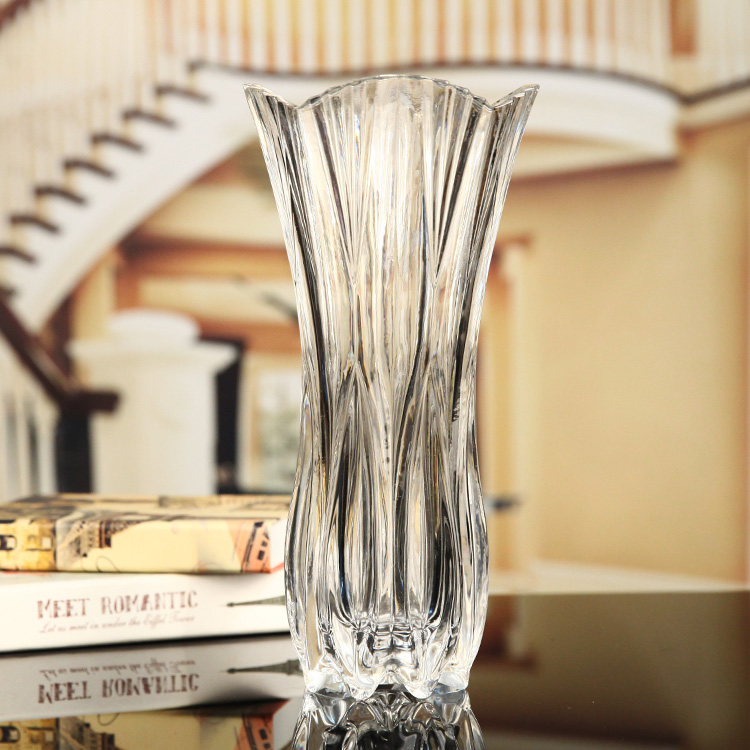 Usd 2980 Thickened Large Size Transparent Glass Vase Floor Large