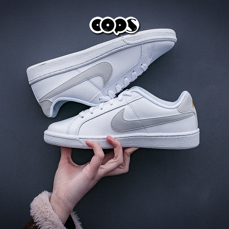 85b9c9d1f1 Nike Court Royale men and women low cut casual white shoes sneakers  749867-111 833535