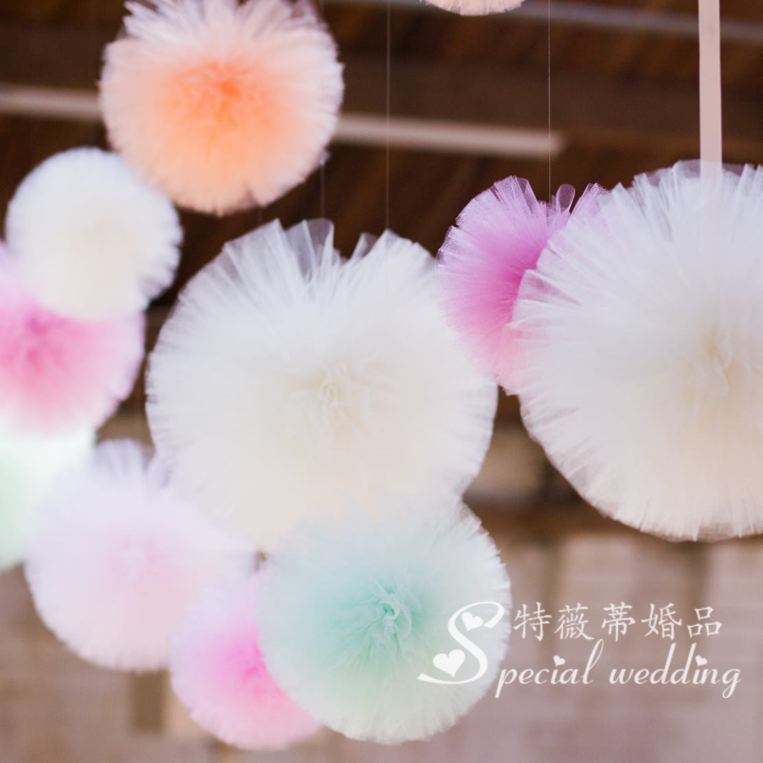 Usd 641 10cm wedding decoration yarn ball european style flower 10cm wedding decoration yarn ball european style flower ball 24 color optional photographed background marriage room decoration new year party junglespirit Images