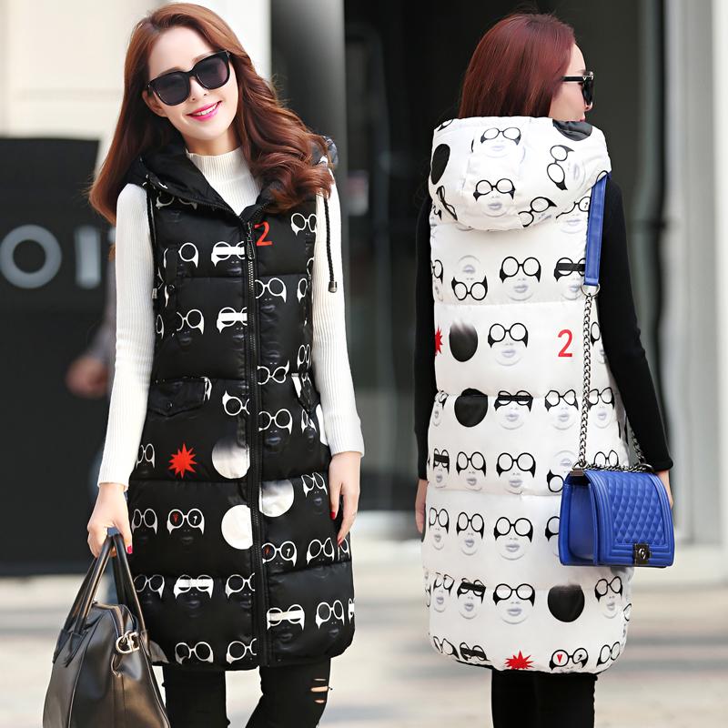 女童装3件套装冬款卫衣加厚棉马甲加长裤子连帽套头韩版儿童长袖